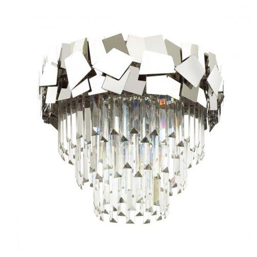 люстра потолочная светодиодная odeon light saturno 114 вт хром Люстра потолочная Odeon Light STALA, E14, 6x40 W (хром/хрусталь)