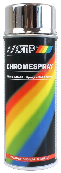 MOTIP аэрозольная автоэмаль Chromespray