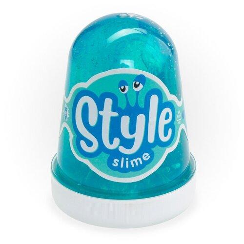 Купить Лизун LORI Style Slime с ароматом яблока морская волна, Игрушки-антистресс