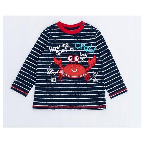 Лонгслив Pixo размер 92, темно-синий, Футболки и рубашки  - купить со скидкой