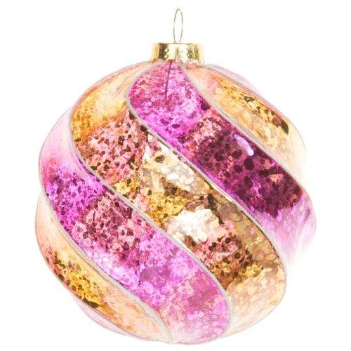 Набор шаров KARLSBACH 06748, фиолетовый/золотой