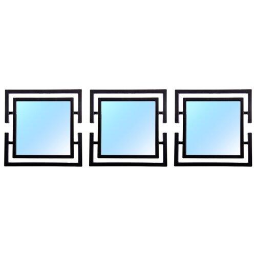 Зеркало Русские подарки набор из 3 шт 68202 25х25 в раме
