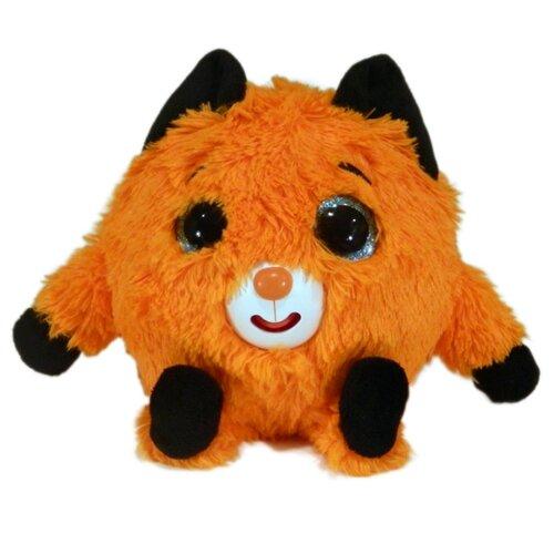 Купить Мягкая интерактивная игрушка Дразнюка-Zooка. Лисичка (звук), 13 см, 1 TOY, Развивающие игрушки
