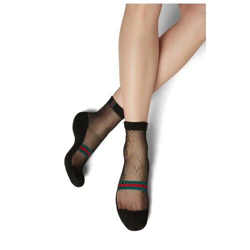 Носки Mersada Девушка без комплексов (209554), размер 36-41, черный/красный/зеленый