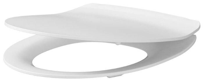 Крышка-сиденье для унитаза Cersanit Delfi slim дюропласт с микролифтом