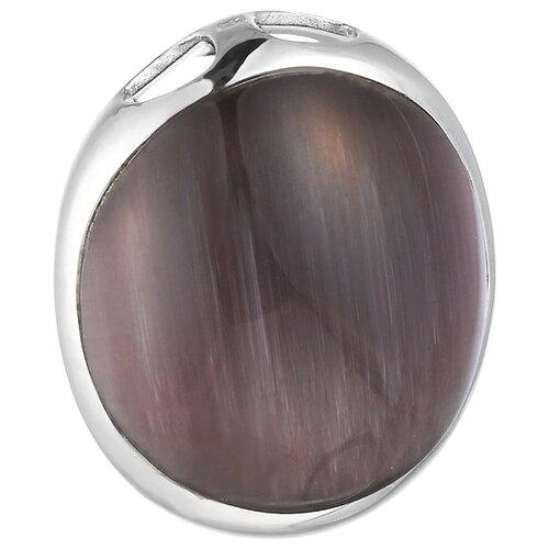JV Подвеска со стеклом из серебра SP0149-US-001-WG jv кольцо с ювелирным стеклом из серебра b3198 us 011 wg размер 17 5