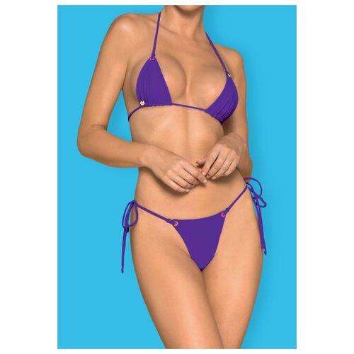 Фото - Купальник мини-бикини Obsessive размер OS фиолетовый obsessive набор трусов lacea shorties