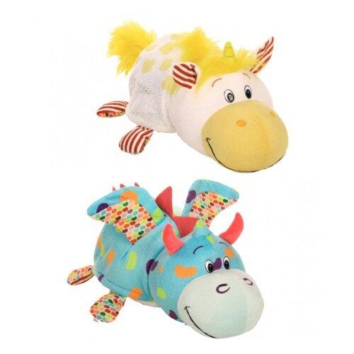 Мягкая игрушка 1 TOY Вывернушка Ням-Ням Единорог-Дракон с ароматом 40 см