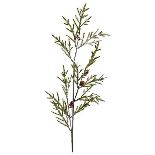 Изделие декоративное еловая ветвь 87 см Lefard (535-218)