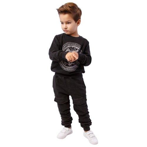 Спортивный костюм Black Star Wear размер 140, темно-серыйСпортивные костюмы<br>