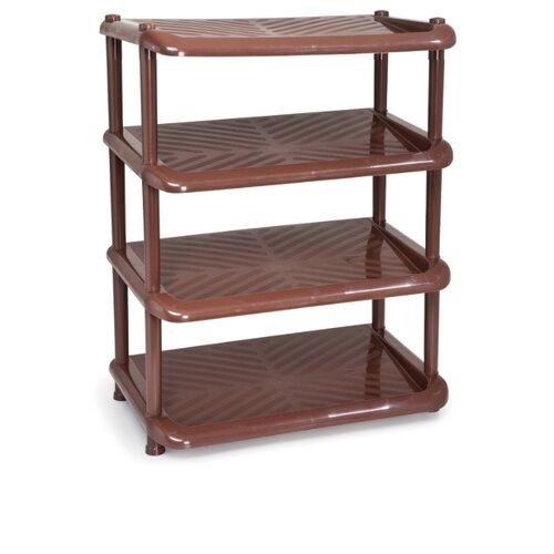 Обувница ПОЛИМЕРБЫТ Комфорт 9240 , размер (ШхГ): 49.5х31 см , цвет: коричневый