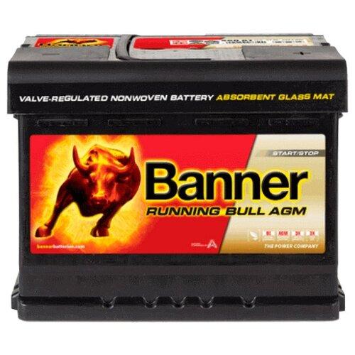 Автомобильный аккумулятор Banner Running Bull AGM 560 01