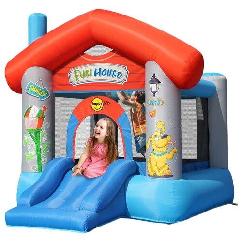 Купить Надувной комплекс Happy Hop Веселый дом 9215, Надувные комплексы и батуты