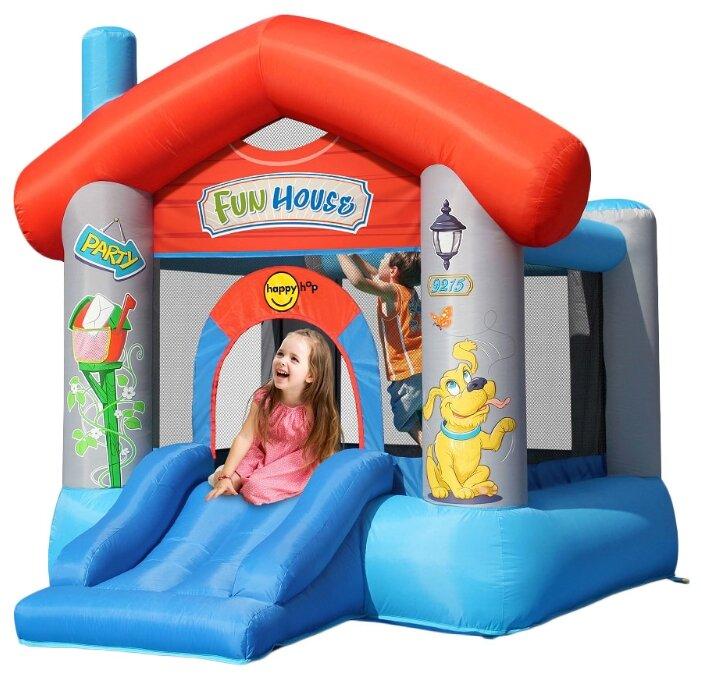 Надувной комплекс Happy Hop Веселый дом 9215