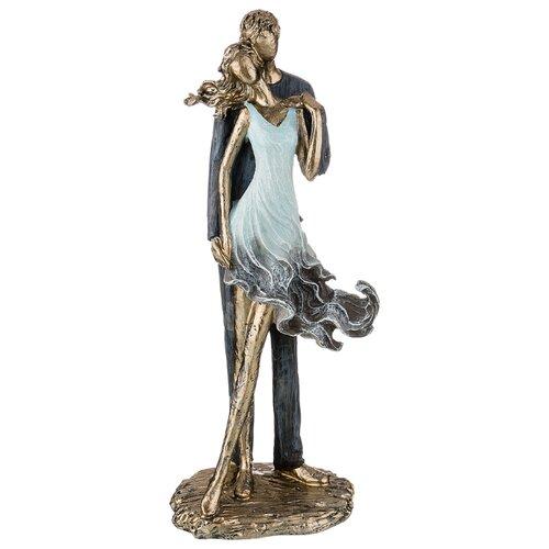 Фото - Статуэтка влюбленные Lefard 14*10,5*33,5 см серия Фьюжн (162-750) статуэтка lefard йога серия фьюжн 13 5х7х18 5 см 162 700