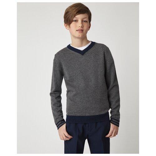 Пуловер Gulliver размер 146, серый