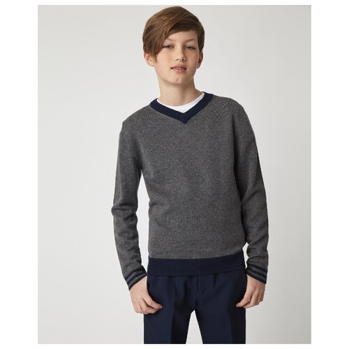 Купить Пуловер Gulliver размер 170, серый, Свитеры и кардиганы