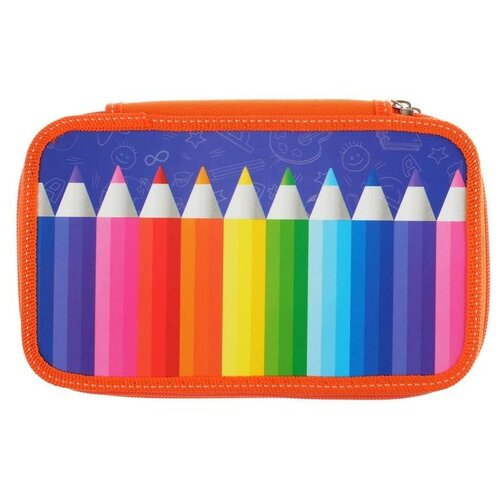Calligrata Пенал Для творчества (4727566) оранжевый/синий