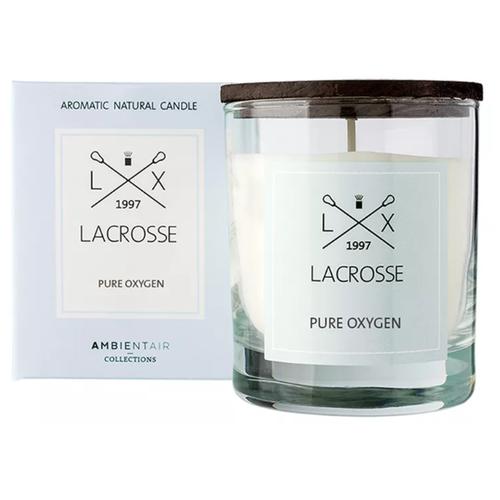Свеча Ambientair Lacrosse Pure Oxygen Кислород (VV040OXLC) белый