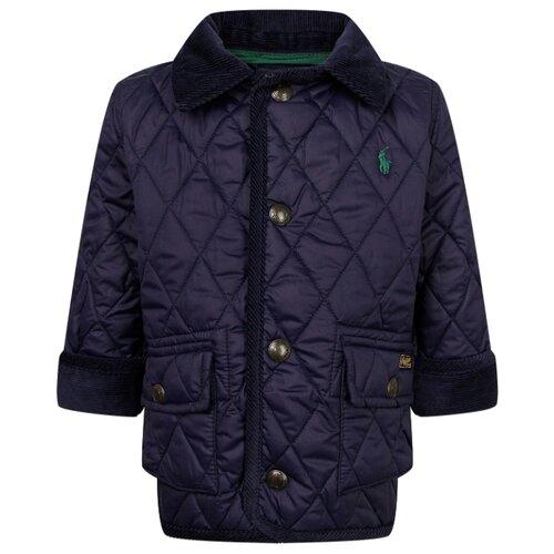 Купить Куртка Ralph Lauren размер 74, синий, Куртки и пуховики