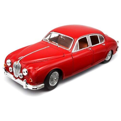 Купить Легковой автомобиль Bburago Jaguar Mark II (1959) (18-12009) 1:18 красный, Машинки и техника