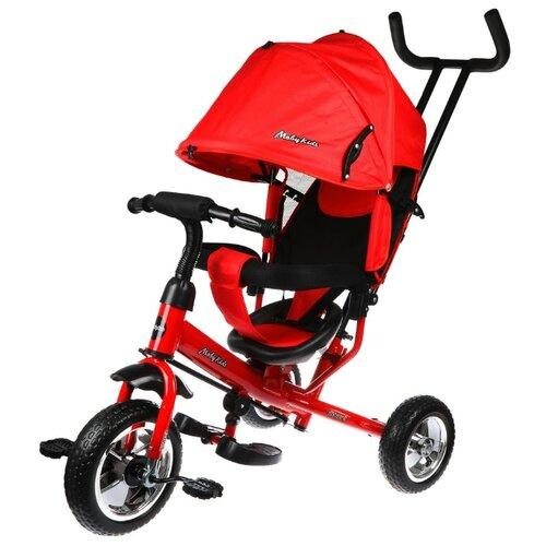 Купить Трехколесный велосипед Moby Kids Start 10x8 Eva, красный/черный, Трехколесные велосипеды
