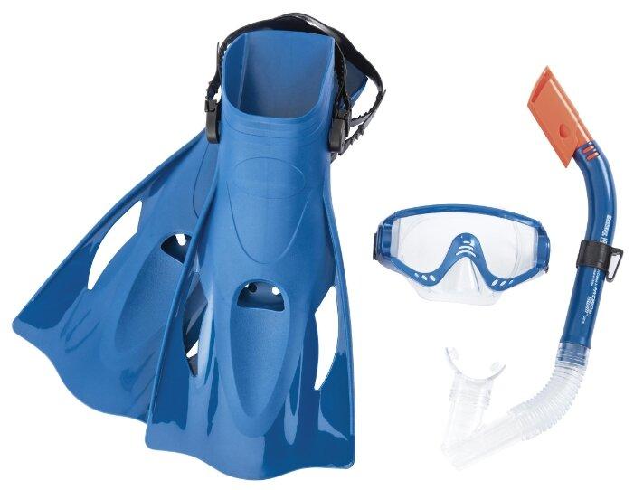 Набор для плавания с ластами Bestway Meridian размер 41-46