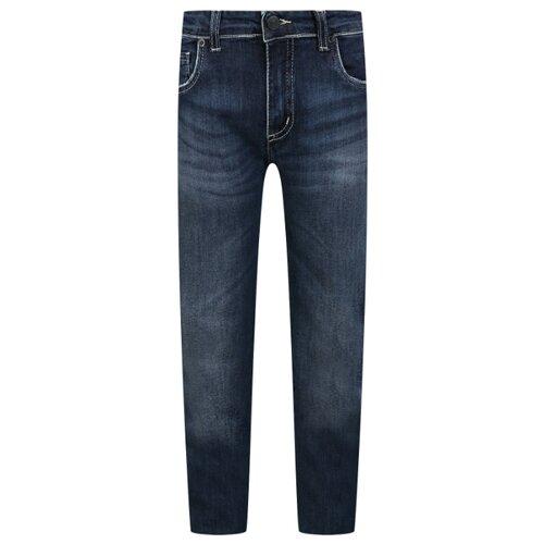 Джинсы Paolo Pecora размер 128, синий футболка paolo pecora размер 128 белый