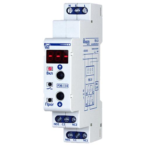 Реле времени для распределительного щита Новатек-Электро РЭВ-114 реле времени для распределительного щита feron 23205