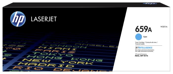 Картридж HP W2011A — купить по выгодной цене на Яндекс.Маркете