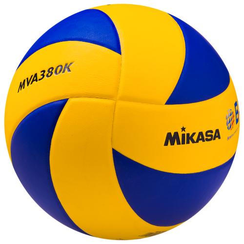 Волейбольный мяч Mikasa MVA380K сине-желтый цена 2017