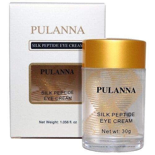 PULANNA Крем для век на основе пептидов шелка Silk Peptide Eye Cream 30 г крем для рук pulanna pulanna mp002xw0fqz7