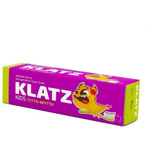 Купить Зубная паста Klatz Kids Тутти-фрутти 5-11 лет, 48 мл, Гигиена полости рта