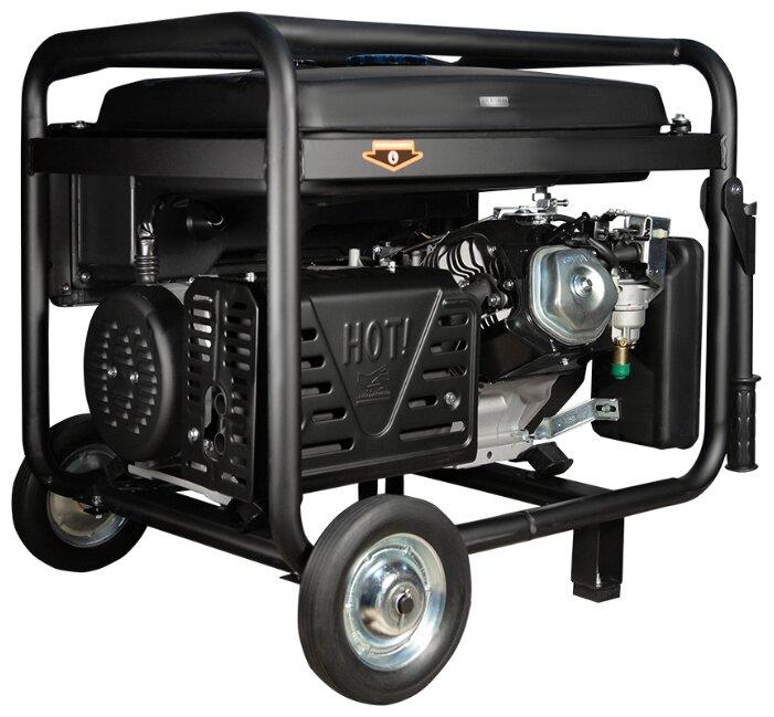 Бензиновый генератор FoxWeld Expert G9500 EW (7800 Вт)