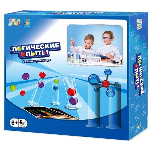 Фото - Настольная игра 1 TOY Игродром Логические опыты настольная игра 1 toy игродром логические опыты
