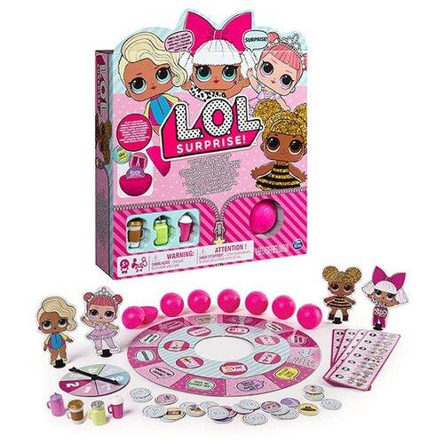 Настольная игра Spin Master L.O.L. Surprise! spin master 6045561 настольная игра обезьянка и кольца