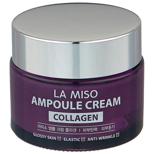 La Miso Ampoule Cream Collagen Крем для лица с коллагеном, 50 г la miso ampoule cream hyaluronic крем для лица с гиалуроновой кислотой 50 г