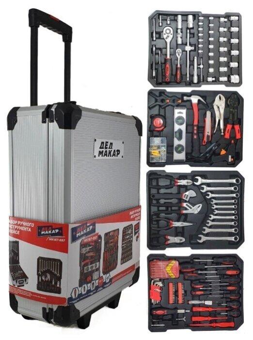 Купить Набор инструментов в кейсе ДЕД МАКАР 187 предметов МК187-097 по низкой цене с доставкой из Яндекс.Маркета (бывший Беру)
