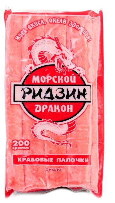 Ридзин Морской Дракон Крабовые палочки 200 г