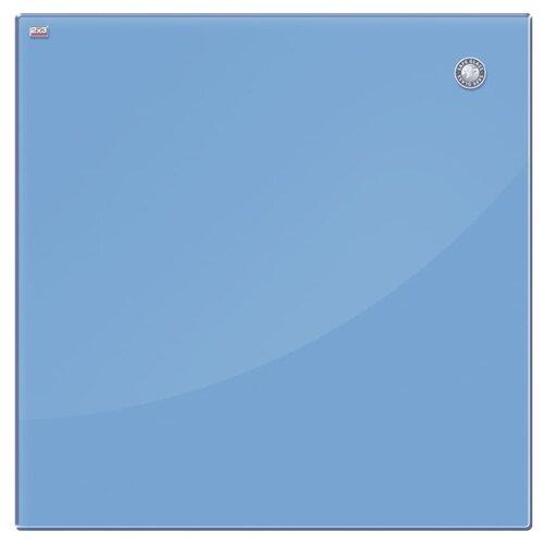 Купить Доска магнитно-маркерная 2x3 TSZ4545 (45х45 см) голубой, Доски