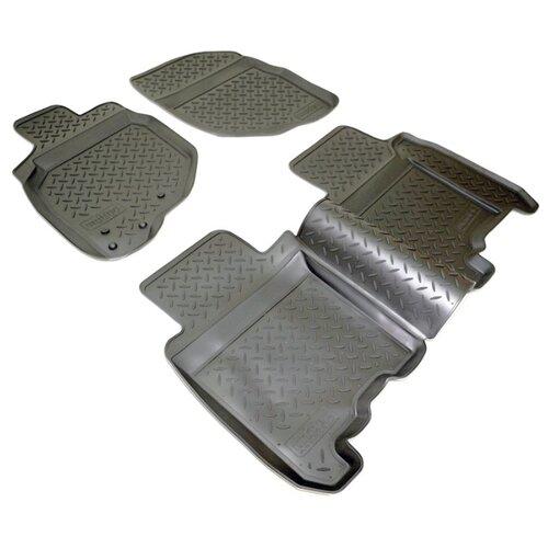 Комплект ковриков NorPlast NPL-Po-30-30 4 шт. черный коврики в салон norplast для dodge caliber 2006 npl po 20 30 черный