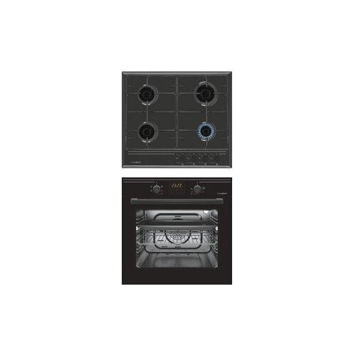 Комплект встраиваемой техники Luxdorf H60V40B450 + B6EB56050 черный