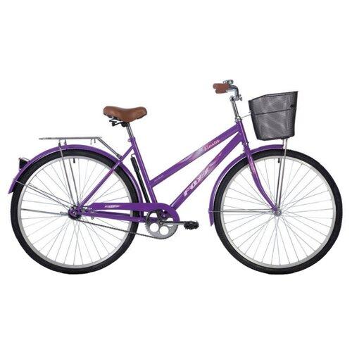 Дорожный велосипед Foxx Fiesta 28 (2020) фиолетовый 20 (требует финальной сборки) дорожный велосипед author