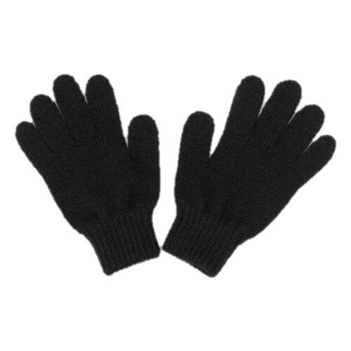 Купить Перчатки Button Blue размер 18, черный, Перчатки и варежки