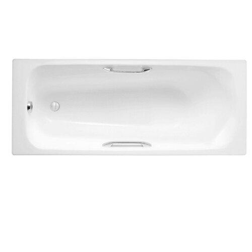 Ванна Jacob Delafon Melanie E2925 чугун левосторонняя/правосторонняя ванна из искусственного камня jacob delafon elite 170x75 с щелевидным переливом e6d031 00 без гидромассажа