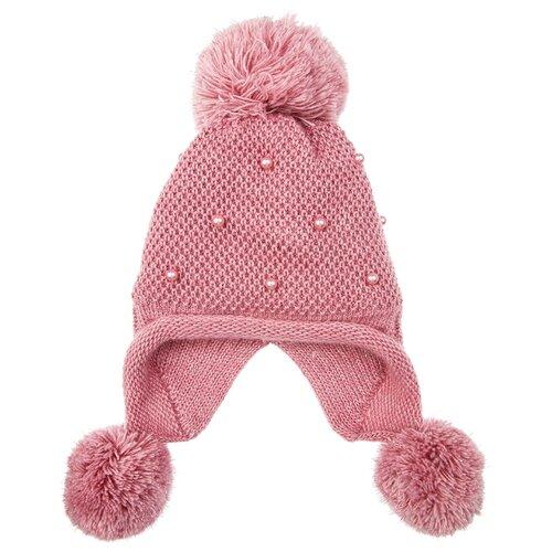 Купить Шапка playToday размер 52, розовый, Головные уборы