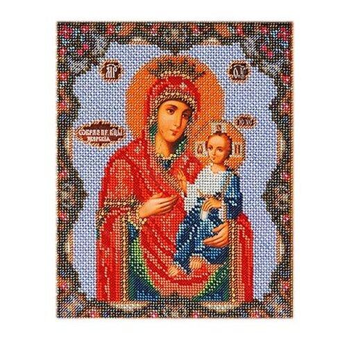 Радуга бисера Набор для вышивания бисером Иверская Богородица 20 х 24 см (В162) набор для вышивания бисером созвездие япония 20 х 27 см