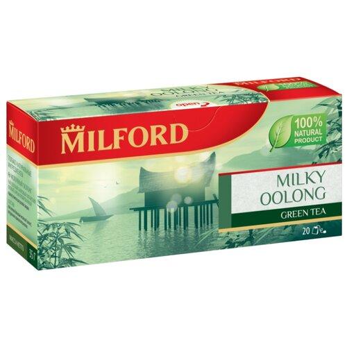 Чай улун Milford Milky oolong в пакетиках, 20 шт. чай улун императорский чай professional oolong в пакетиках для чайника 20 шт