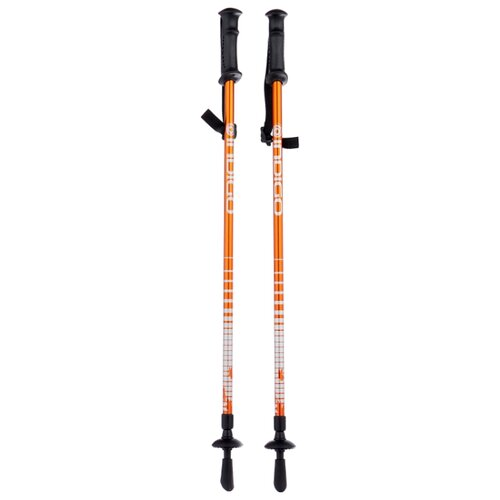 Палки для скандинавской ходьбы 2 шт. Indigo SL-1-2 оранжевый