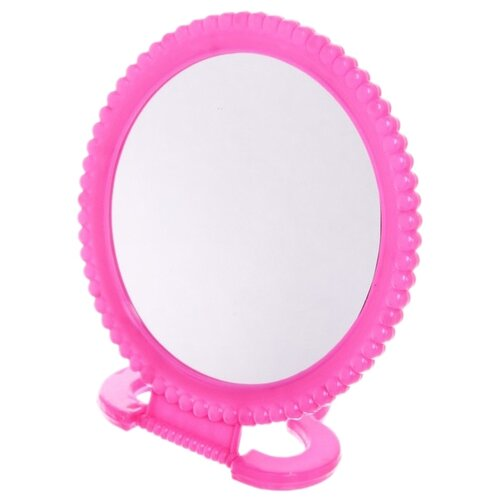 Зеркало косметическое настольное Florento Бусинки (420-264) розовый